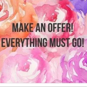 Don't be shy to make an offer!